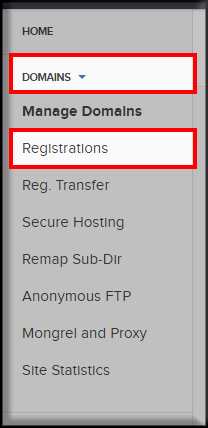 Domains-Registrations