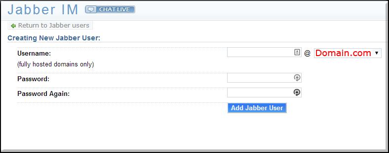 Jabber-New-User