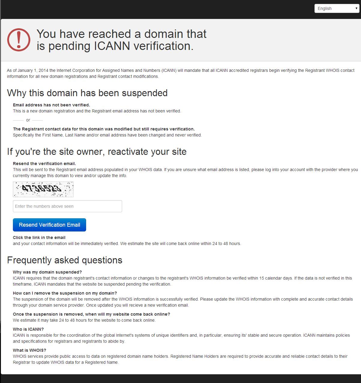 domain-that-is-pending-ICANN-verification
