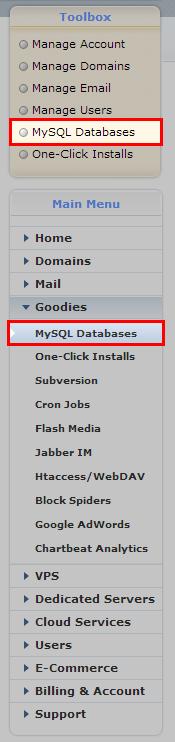 MySQL-Tab